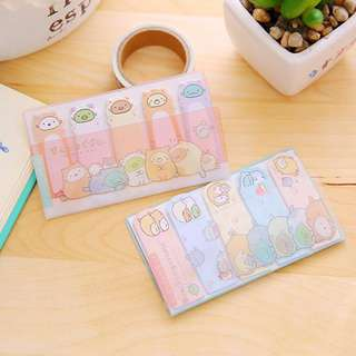 🌟BN INSTOCK Sumikko Gurashi Sticky Flag Notes