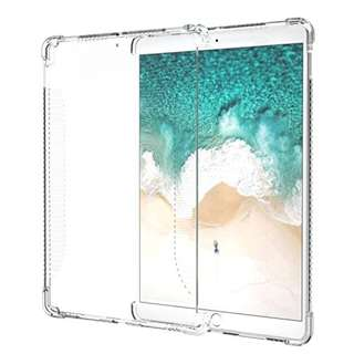 "iPad Pro 10.5 Case, MoKo CLEAR Shockproof Soft Flexible Transparent TPU Back Cover Protector for iPad Pro 10.5"" 2017 Tablet, CLEAR (Compatible with iPad Pro Official Smart keyboard & Smart Cover)"