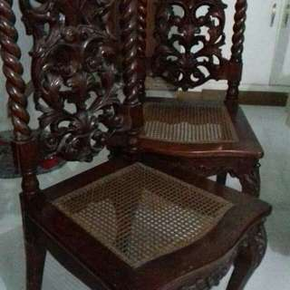 Antique Narra Chair Soliya