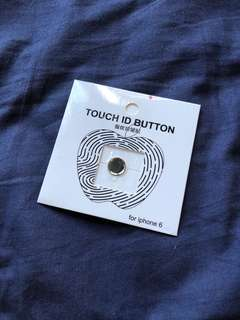 Apple Touch ID Button iPhone iPad