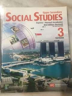 Social Study Upper Sec 3