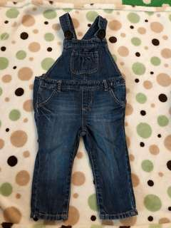 Baby gap toddler jumpsuit denim  size  12-18