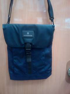 Victorinox body bag in blue for men