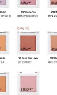 Tony Moly Cheektone Powder Blush