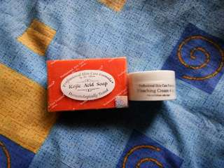 Dr.Alvin kojic acid soap / Bleaching Cream