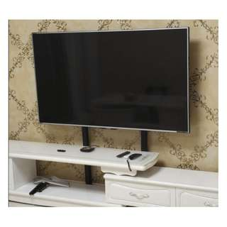 "TV floor stand up to 75"" height adjustable 1200mm whatsapp:8778 1601"