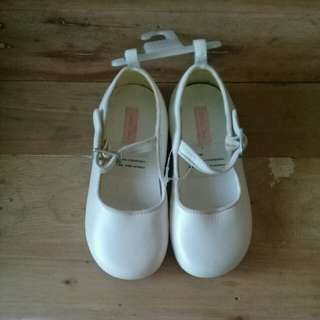 Baby Gap white shoes