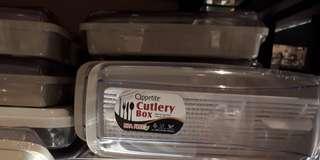 Cutlery Box (tempat penyimpan alat makan sendok garpu)