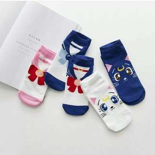Sailormoon Socks (Buy 4 for 240.00)