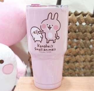 卡娜赫拉不鏽鋼冰壩杯 粉紅兔 台灣代購