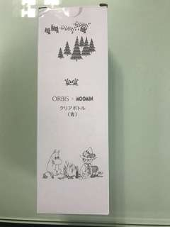 🚚 Moomin X orbis water bottle