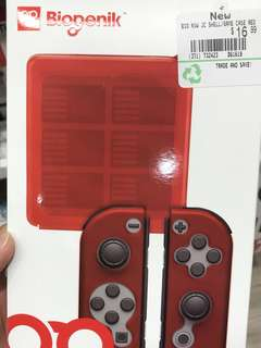 Nintendo switch Card case and Joycon case (RED)