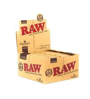 🚚 [BOX) Raw Classing King Size Rolling Paper #CarouPay