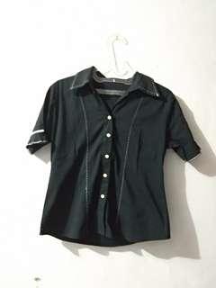 Preloved Black Shirt (Kemeja)