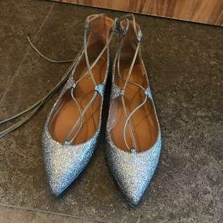 [Made in Italy] Aquazzura Christy Flats (EU40.5)
