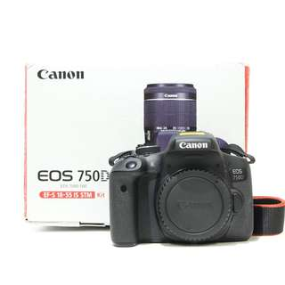 Canon EOS 750D DSLR Camera (Body Only) SC:3K+
