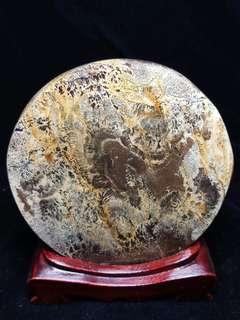 異象國畫石~尺寸95*94*17mm