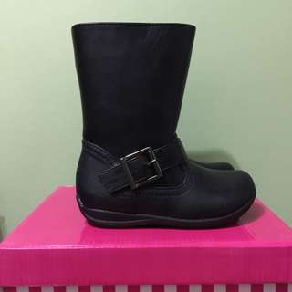 Sugars kids black boots