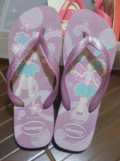 Preloved Havaianas Limited Edition Fairy Purple 37-38