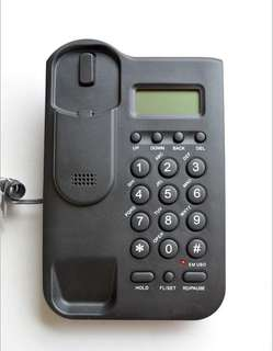 pTelephone office, home telephone, caller ID telephone, battery free