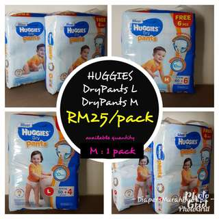 Huggies M (Pants Type)