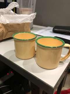 Mini Size Enamel Mug