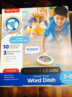 ~Ready Stocked~ Fisher-Price Think & Learn Smart Scan Word Dash