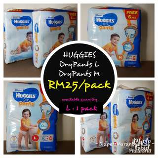 Huggies L (Pants Type)