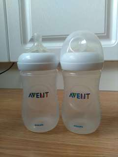 AVENT Bottle Preloved 1yr used