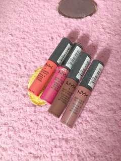 NYX Matte Lipstick/s