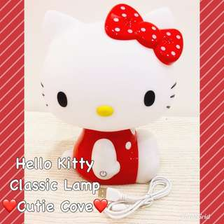 *NEW IN IN SG* Hello Kitty Classic Lamp