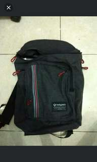 Bodypack prodigers series backpack ransel tas sekolah + raincover jual cepat