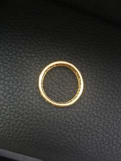 Real 916 Gold Ring