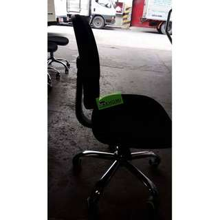 C605G CLERICAL CHAIR COLOR BLACK--KHOMI