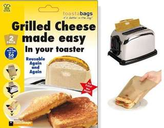 reuseable toaster bag