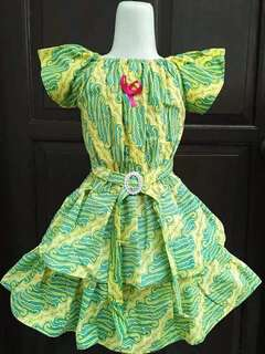 Dress batik anak lucu murah