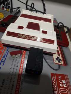 FAMICOM MINI (Hakchi with Wireless Mod & Controller)