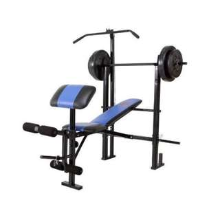 Marcy 7-in-1 Weight Bench Press