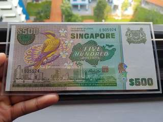Bird series $500 banknotes ( AU )