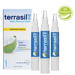 Terrasil® Wart Removal Stick MAX - Pain-free, Patented