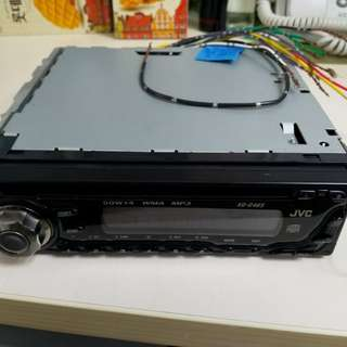 汽車機頭 收音機 mp3 JVC KD-G645