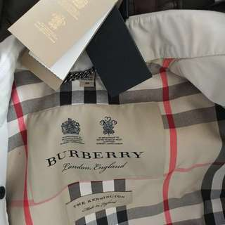 全新 BURBERRY Kensington trench coat
