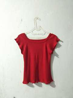 Preloved Red Shirt