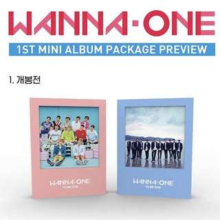 [PREORDER] Wanna One - To Be One