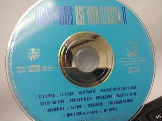 Guns & Roses - Use Your Illusions II (made in Germany/UK Press)