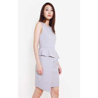All Would Envy Carya Peplum Dress