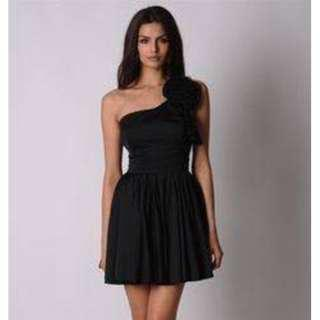 Black Natasha Gan designer dress Size 8