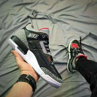 Ready Nike jordan black cement