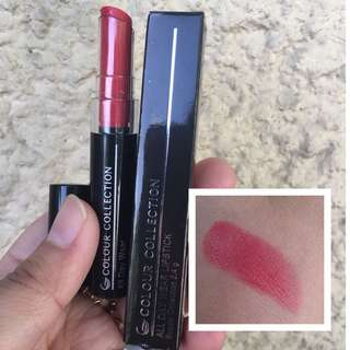 Colour Collection All Day Wear Lipstick (Rush Red)