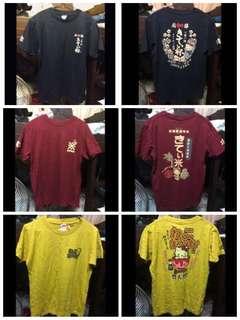 全新日本豐天Hello Kitty T-shirt (3件)